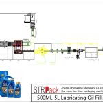 ავტომატური 500ML-5L საპოხი ზეთის შემავსებელი ხაზი